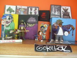 My Gorillaz Action Figures 2 by Houselurver11