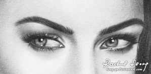 Megan Fox 3 - eye by Hong-Yu