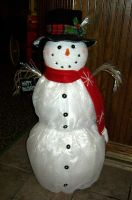 Snowman Decoration 1 by Jenna-RoseStock