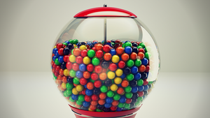 Gumball Machine by wirrew