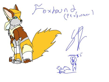 FoxHound Pet'Former style by KeiriiNight