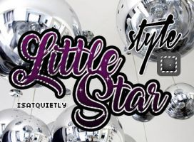 +Little Star Glass Style by ISatQuietly