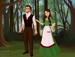 The Woodcutter (Tin Man) and his Lover of Oz by Kailie2122
