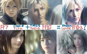 FF7 + FF10 EQUALS FF10-2 by Gunblades-Kill-All