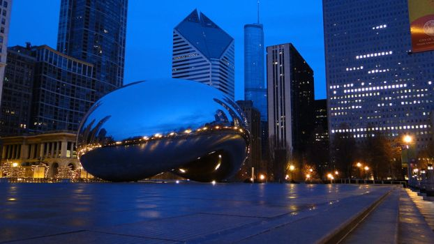 Cloud Gate, Chicago. (1) by aliohali