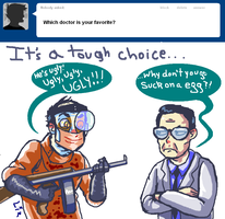 My Favorite Doctor Is... by caboosemcgrief