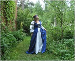 Lady In Blue IV by Eirian-stock