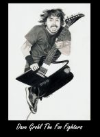 Dave Grohl Foo Fighters by Dragonsanddaffodils