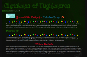 Christmas of Nightmare by GillianIvy