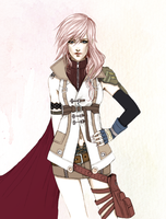 Lightning Farron Coloured by AutumnVisionary