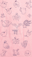 Fairy Type Pokemon - Iphone 5 Background by Tails19950