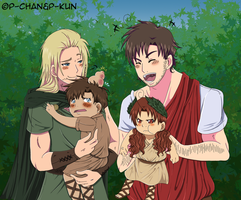We are family by P-ChanAndP-Kun