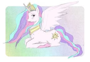 celestia by peachei
