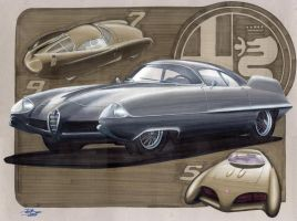 Alfa Romeo BAT by PPLBLISS