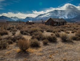 Eastern Sierra Shack by MartinGollery