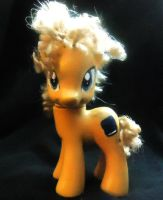 My Little Pony Custom: River Song from Doctor Who by SassyJazzRazzMatazz