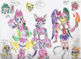 OMG PURTY TF CHARACTAHS 8D by Sanguijuela