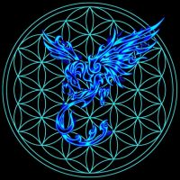 Flower of Life Pheonix by Chazrael
