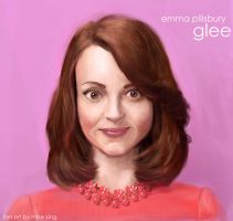 glee: emma pillsbury by mking2008