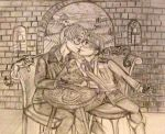 APH Fanart: AmeIta - Pasta and Kisses - Pencil by HELENDRAGON