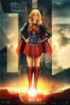 Supergirl Justice League Fan Art Poster  by M4W006