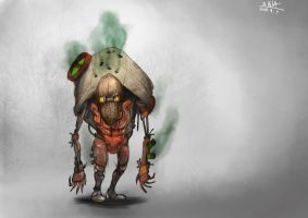 Gas monster mechanical thingy by gamespeaker13