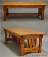 Spindle through tenon table 2 by DryadStudios
