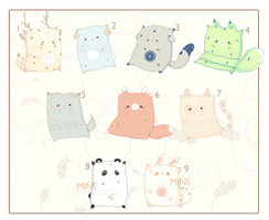 [CLOSED] ADOPT AUCTION 114 - Pet Pillow by Piffi-adoptables