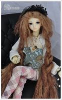 Mohair wig brown by nalisinko