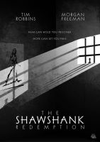 The Shawshank Redemption Poster by mightybeaver