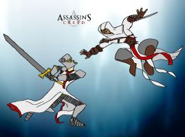 The Assassin's Creed by 87392v