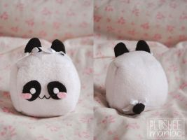 HANDMADE Cute Panda Plush by Plusheemaniac