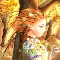 Dryad and Autumn Leaves by yokaze