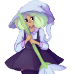 Flower Witch by Irrelevant-things