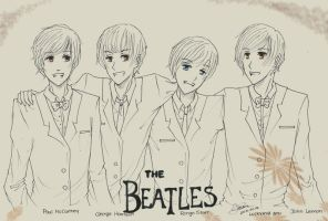 The Beatles - Forever young by Luckyaya