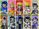 Homestuck Stickers by PerisIllustration