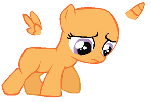 Filly base- Sad filly needs a hug by CmonkeyzRulez030