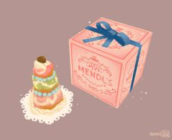 Mendl's Courtesan au Chocolat by hyamei