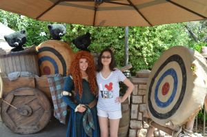 Meeting Merida part 2 by GamerGirl14