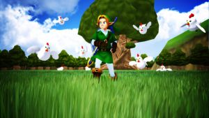 [MMD] Cucco Attack! by Snorlaxin