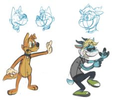 Silly doodles 8 by valdo-wolf