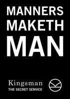 Kingsman Poster - Fanmade by Xindea