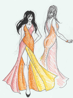 Sunrise Prom Dress by HarajukuBoy86