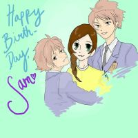 Happy Birthday, Sam! by Ashelectric