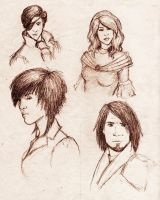 Main Characters by Elorviel