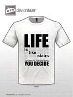 Life is Like Stairs by rckobb