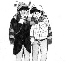 Zico and Kyung spent christmas together by psychomindset