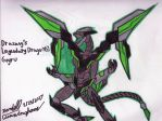 Goyru - The Cyber Dragon of Drazany by Dell-AD-productions