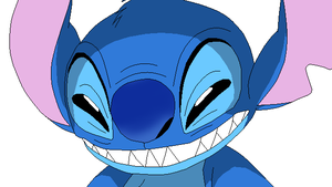 Stitch evil face by Chidori1334