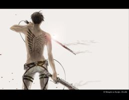 SnK-Levi_Wings of Freedom by RainNoir